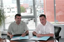 Kristian Ćurković i Željko Markota