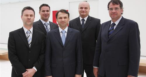 Zdravko Šestak, Miroslav Vitković, Marin Pucar, Josip Pavlović i Saša Romac