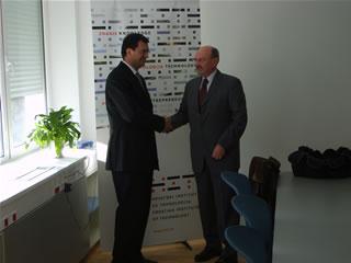 Pero Munivrana i Goran Granić