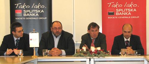 Zdeslav Šantić, Tomislav Krpan, Pierre Boursot i Gordan Miler