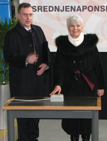 Darko Belić i Jadranka Kosor