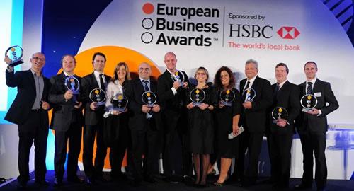 Ovogodišnji dobitnici European Business Award