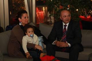 Ljubo Jurčić s obitelji