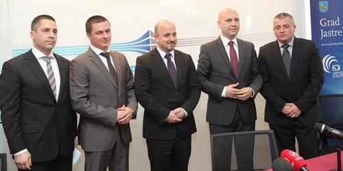 Marko Lasić, Zvonimir Novosel, Gordan Maras, Mihael Zmajlović i Krešo Troha