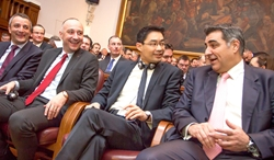 dr. Dino Dogan, Ivan Vrdoljak, dr. Philipp Rösler, Nadan Vidošević