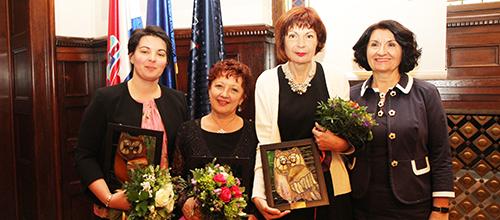 Maša Smokrović, Jasna Nemčević, Gordana Deranja i Sofija Šmitran