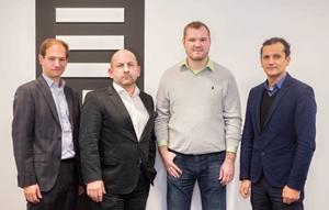 Christian Handler, Gerhard Handler, Petar Kozjak i Karim Chouikri